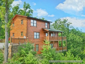 Panoramic Paradise, a Pigeon Forge 5-bedroom luxury rental cabin