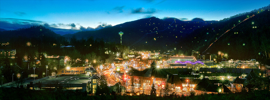 Images of Gatlinburg Lights 2012
