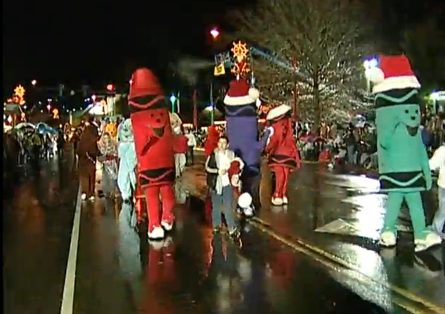 2012 Gatlinburg Fantasy of Lights Christmas Parade