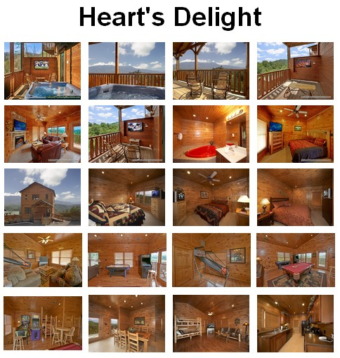 Heart's Delight - Click to book and for images, amenities and availability