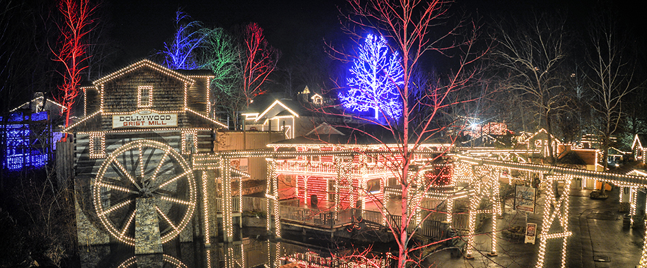 Dollywood Christmas Lights