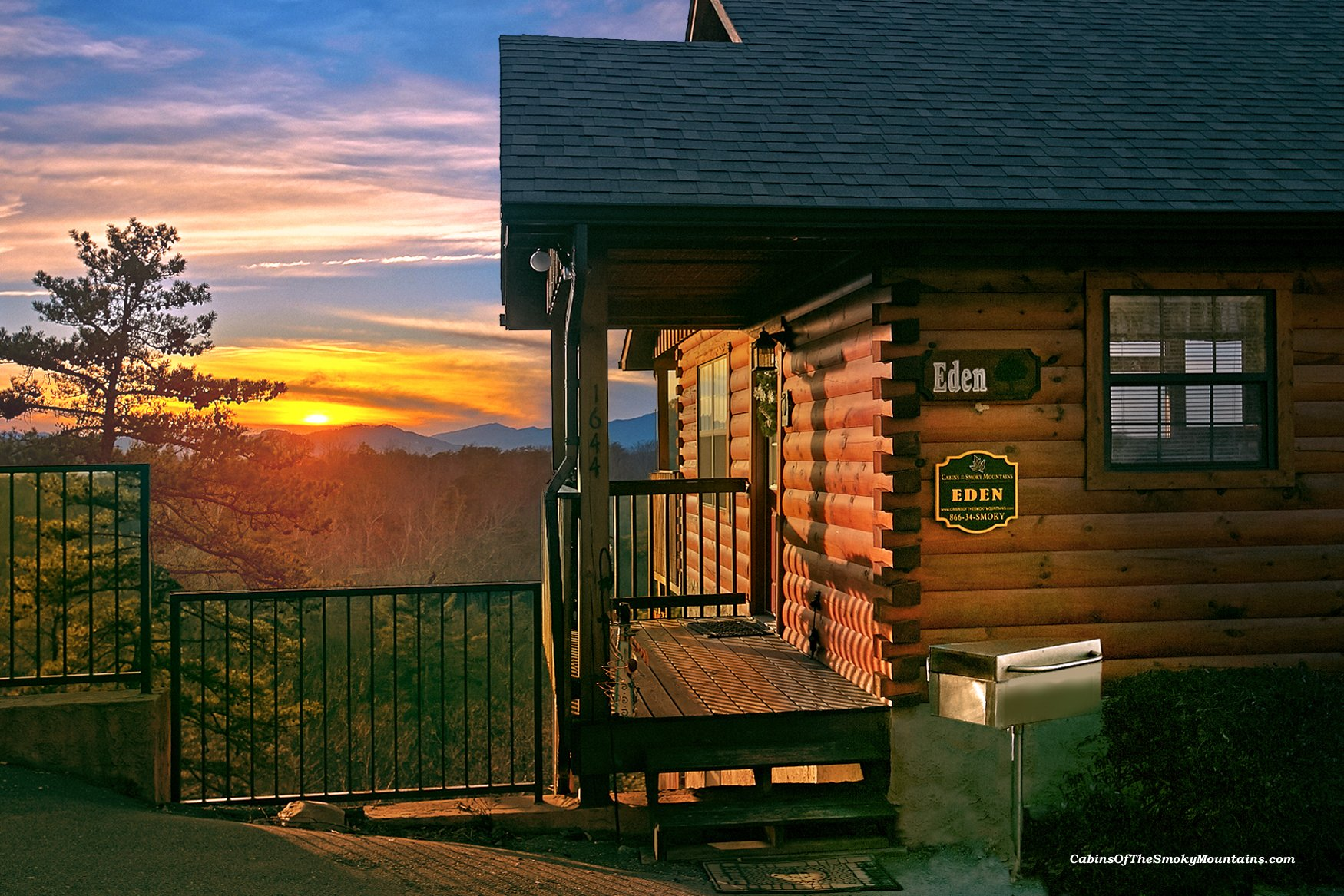 Eden pigeon forge luxury cabin for Luxury pet friendly cabins pigeon forge