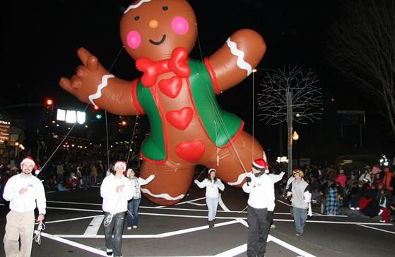 Gatlinburg Christmas Parade 2013