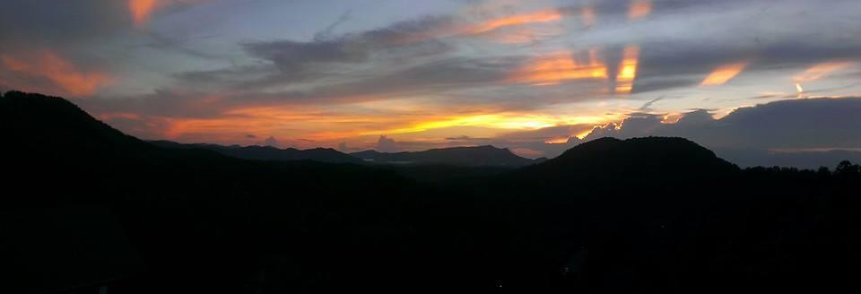Photograph by Christina Rende. Smoky Mountains sky.