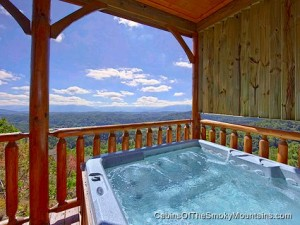 hot tub on the deck - *sigh*