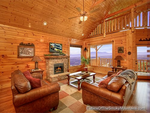 Heavenly high rental cabin in the smoky mountains for Heavenly cabin rentals