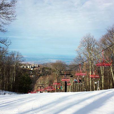 Ober Gatlinburg Skiing 2014