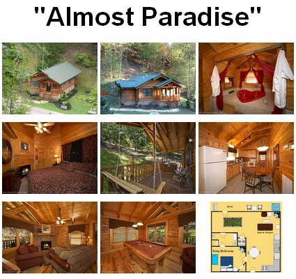 Almost Paradise - Click to book and for images, amenities and availability