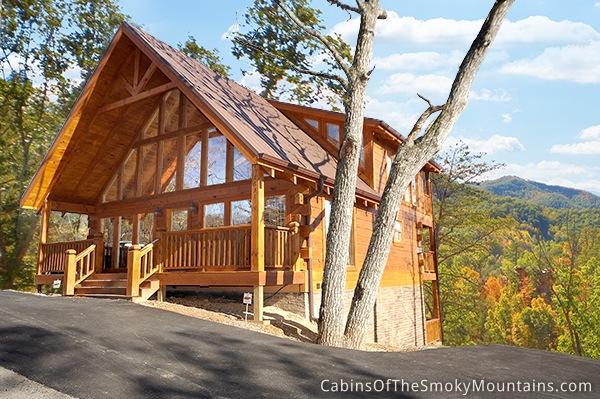 Mountain memories retreat pigeon forge 3 bedroom cabin for 3 bedroom cabins in smoky mountains