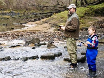 2014 spring smoky mountain trout tournament for Pigeon forge cabins with fishing