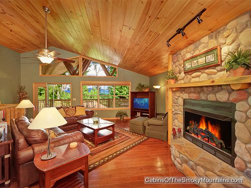 riversong ridge 3 bedroom luxury cabin in the smoky mountains