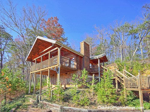 Brave eagle luxury cabin by pigeon forge for Cabins around gatlinburg