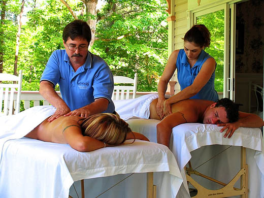 Massage In Your Cabin In The Smoky Mountains