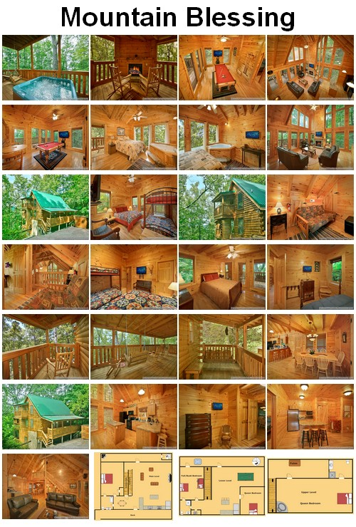 Mountain Blessing  cabin. CLICK HERE to book and for images, amenities and availability