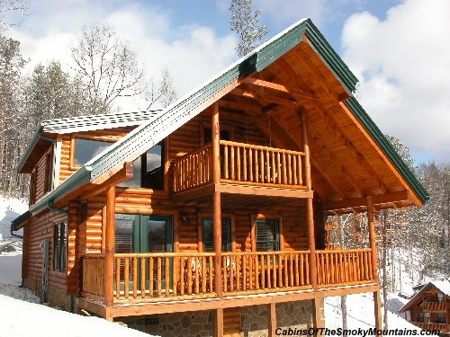 high expectations cabin at gatlinburg falls
