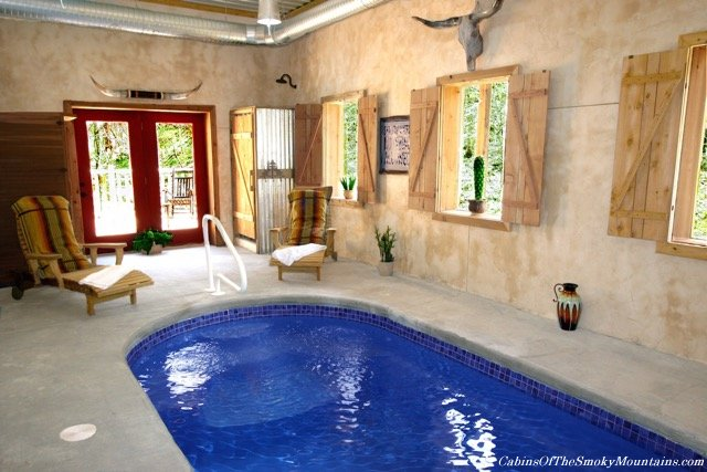 Gatlinburg cabins with indoor swimming pools - 1 bedroom cabins in smoky mountains ...