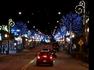 Winter Festivites and Lights in Gatlinburg & Pigeon Forge