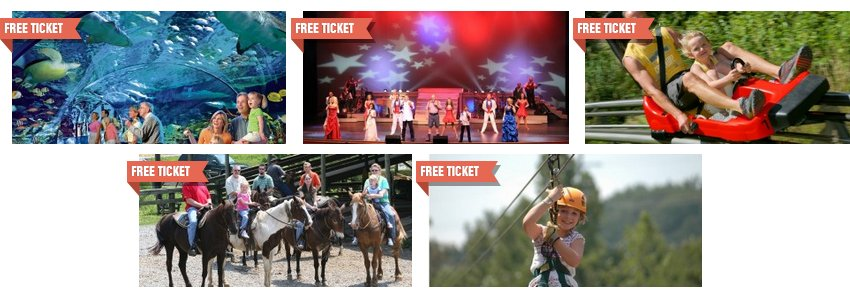 Free Tickets & Gift Coupons