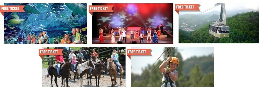 21f03c23f5a4 Gatlinburg   Pigeon Forge Coupons  Free Tickets