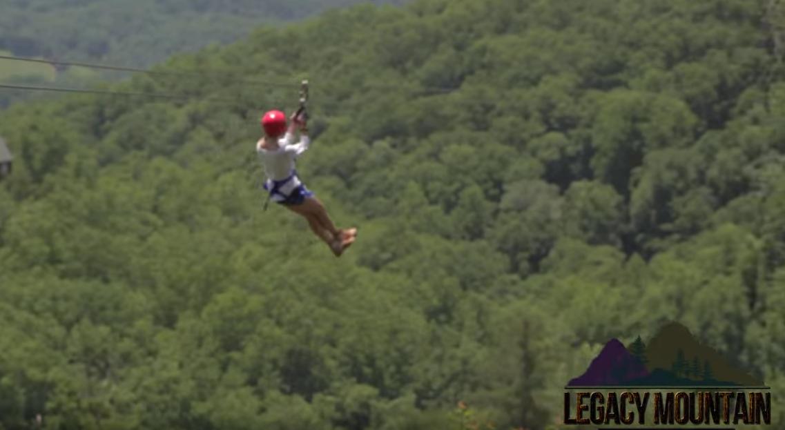 Legacy Mountain Ziplines - FREE Ticket for Ziplining