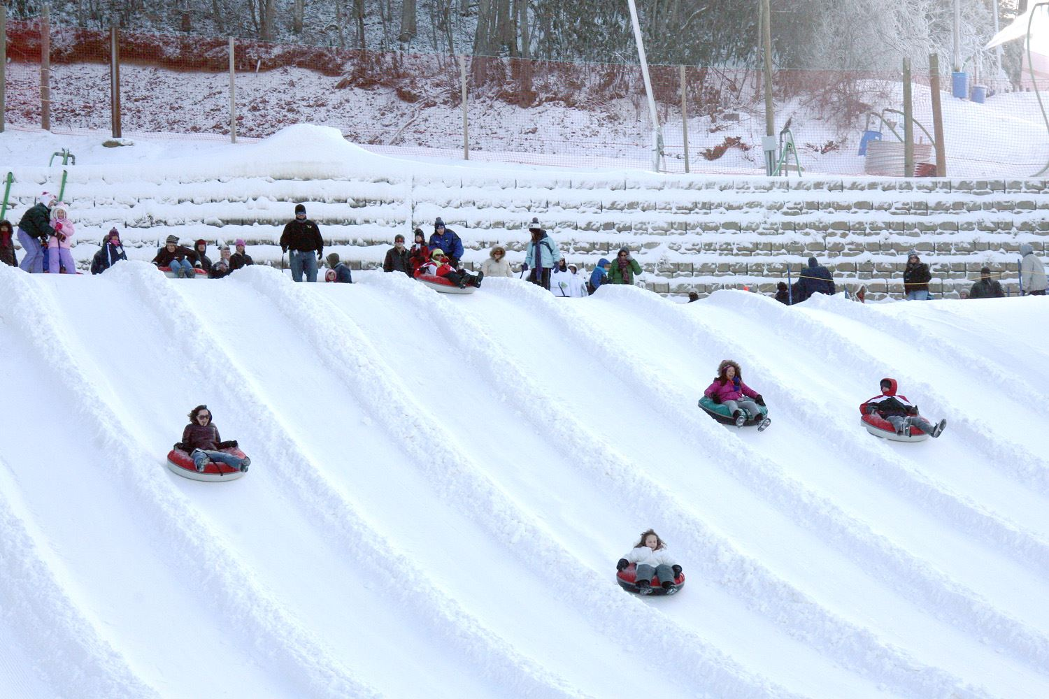 Snow tubing at Ober Gatlinburg