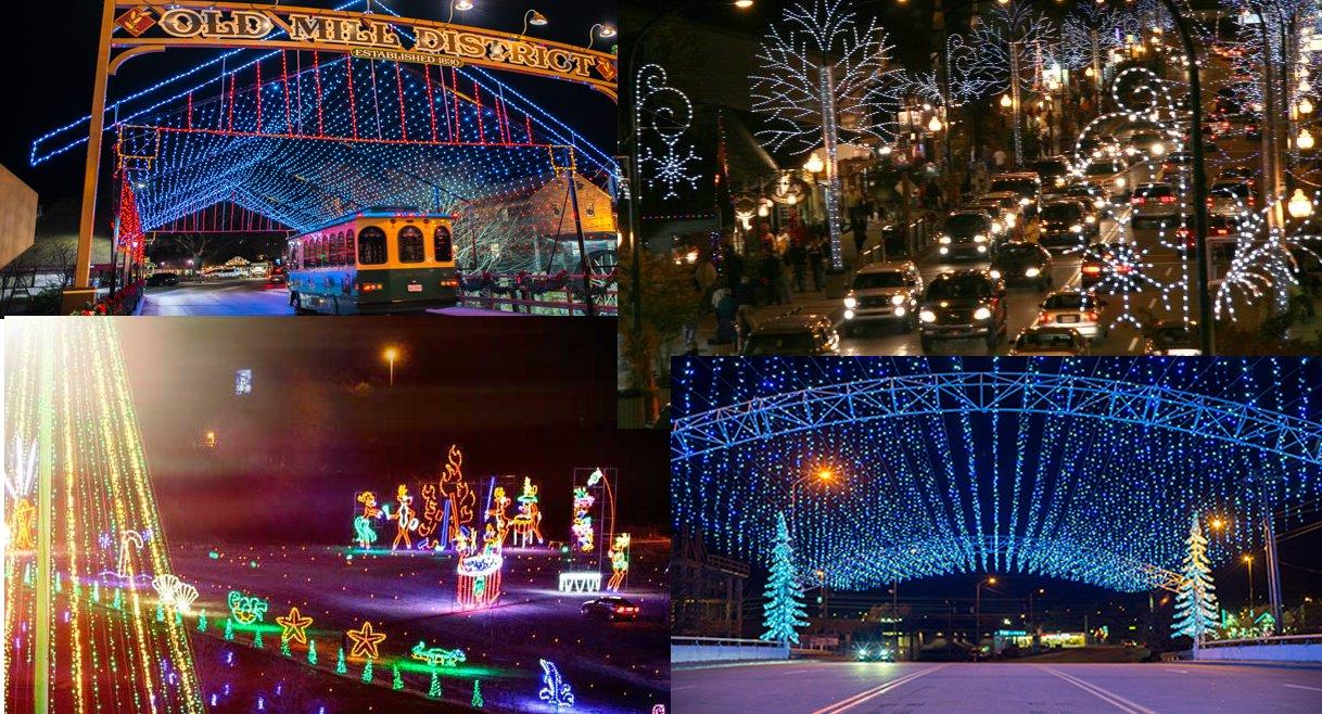 Christmas Lights Gatlinburg Tn 2019 Winterfest and Winter Magic 2018 Begin in the Smoky Mountains