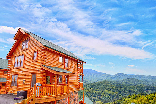 falls gatlinburg cabins at in smoky pigeon great rentals forge amazing mountain private secluded tennessee rental family for a from mountains large luxury intended cabin deck