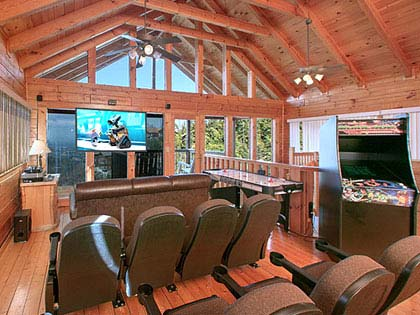 6 bedroom cabins in gatlinburg pigeon forge tn