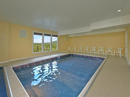 Private Indoor Swimming Pools gatlinburg cabins with indoor / private pools