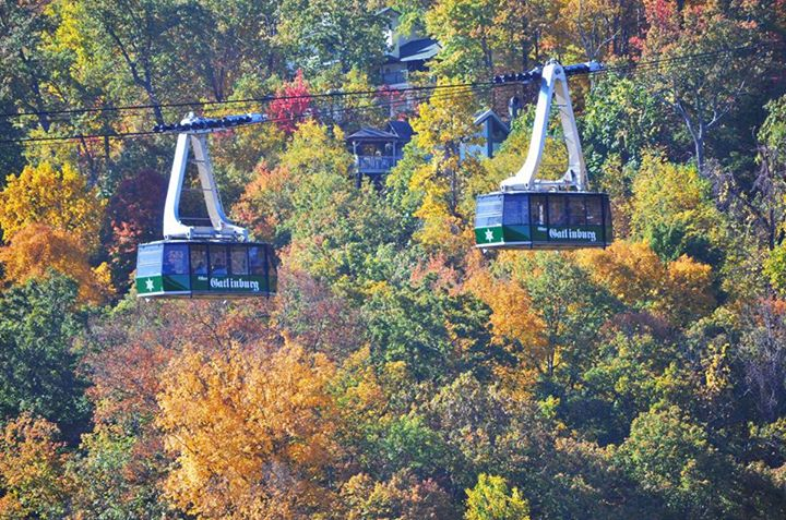 Ober gatlinburg and its aerial tramway Best mountain view cabins in gatlinburg tn