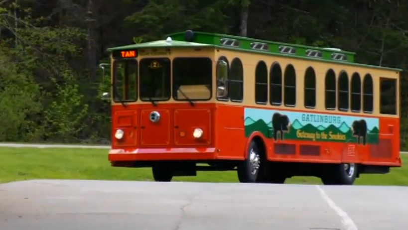image courtesy of Gatlinburg Trolley