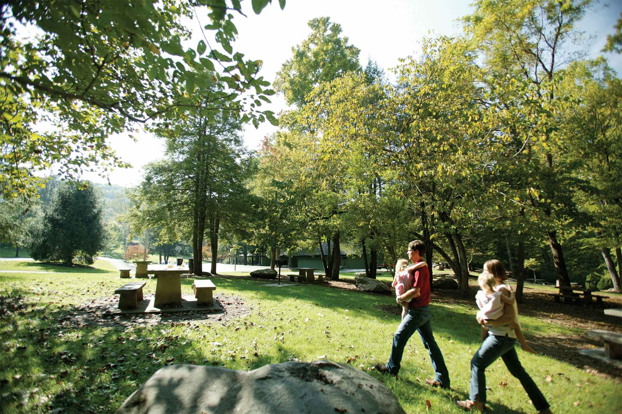 Public parks in gatlinburg pigeon forge cabins of the for Www cabins of the smoky mountains com