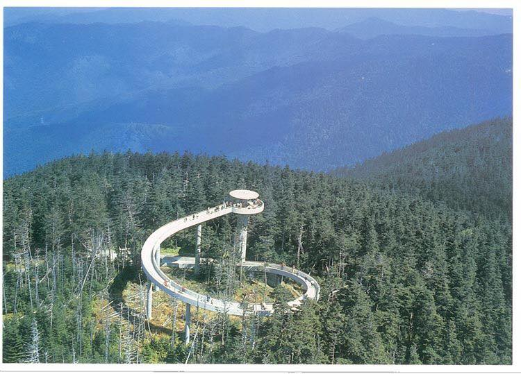 Clingmans dome cabins of the smoky mountains attractions for Www cabins of the smoky mountains com