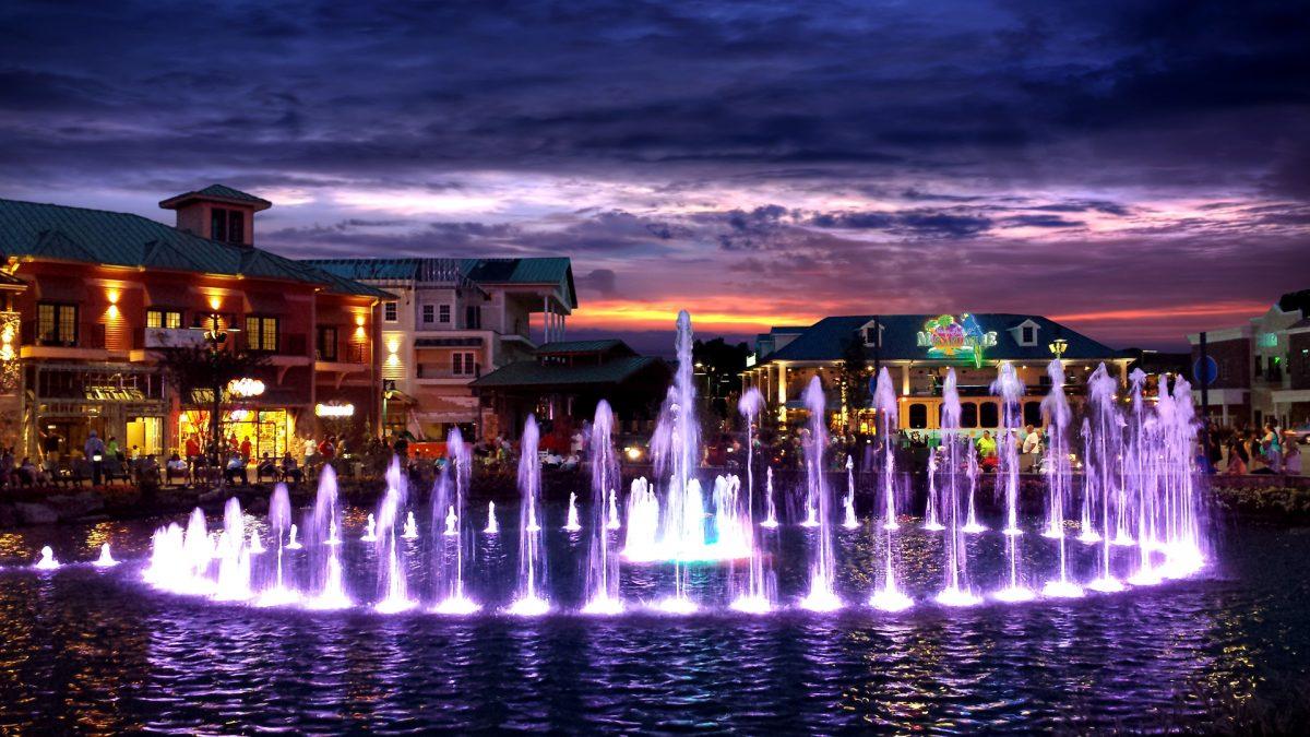 The Island Fountain